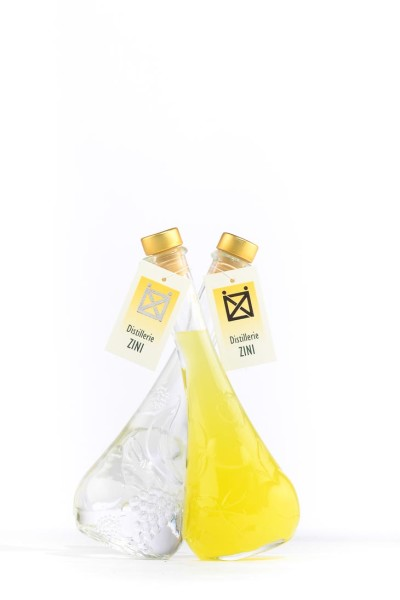 DUETTO GRAPPA E LIMONCELLO 40 – 30%Vol 0,2 + 0,2Lt